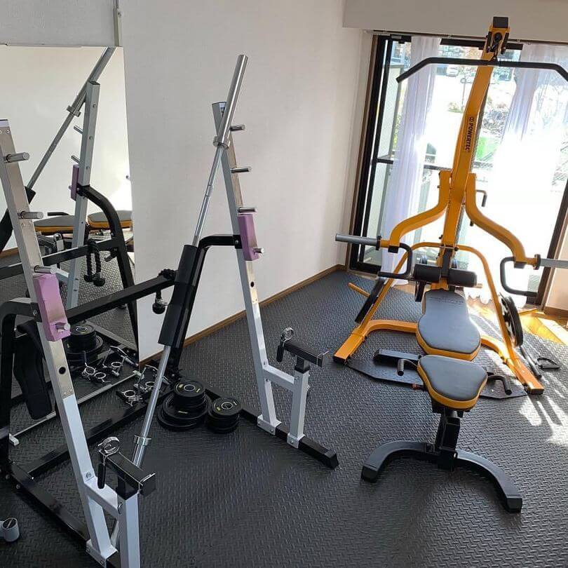 アウトラインのトレーニングルーム