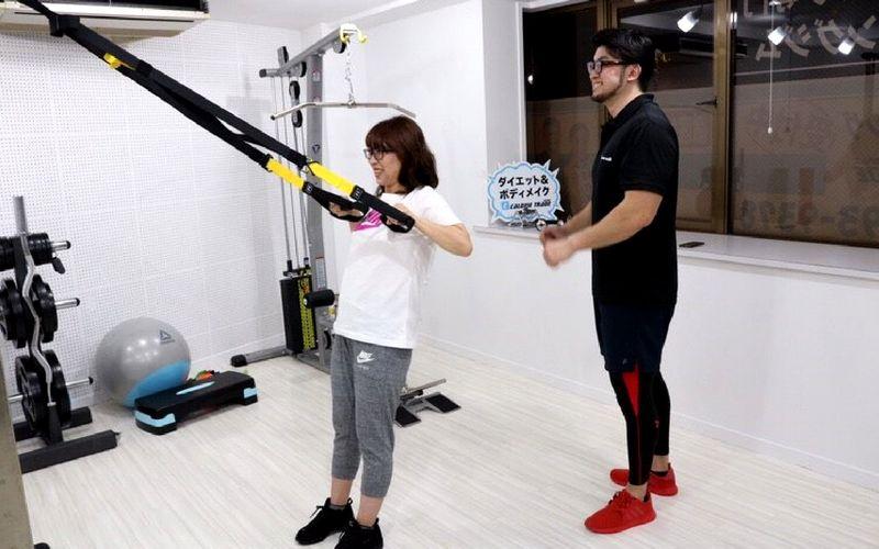 トレーニング画像(CALORIE TRADE JAPAN)
