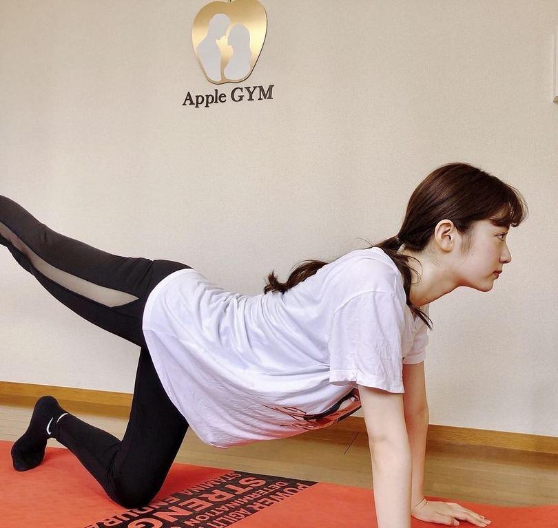 アップルジムでのトレーニング画像