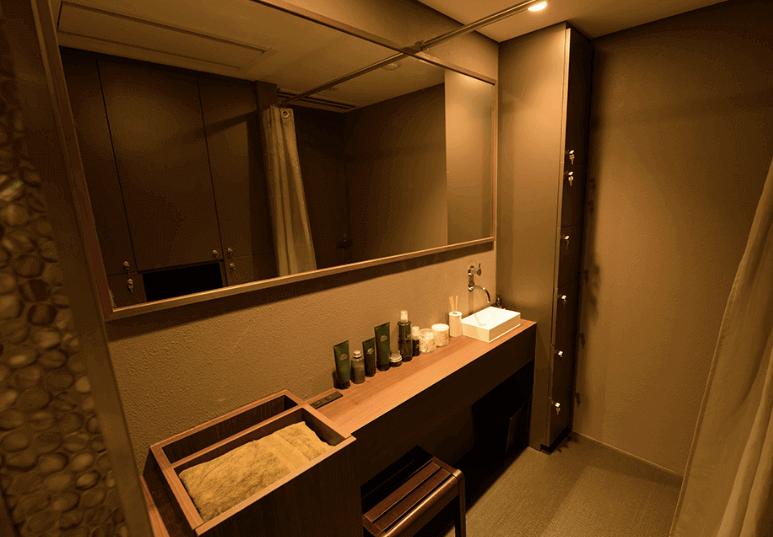クレビックのパウダールーム