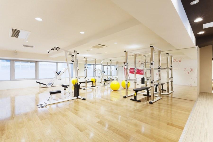 リボーンマイセルフのトレーニングルーム